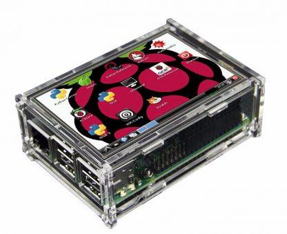 экран-дисплей-с-корпусов-raspberry-Pi-3B