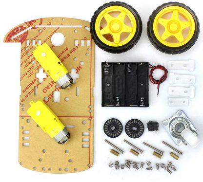 Конструктор робототехника. Arduino робот. Машинка на Ардуино.